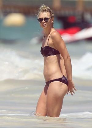 Maria Sharapova Bikini Photos: 2014 in Cancun -07