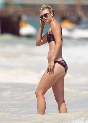 Maria Sharapova Bikini Photos: 2014 in Cancun -08