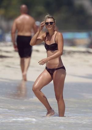 Maria Sharapova Bikini Photos: 2014 in Cancun -14