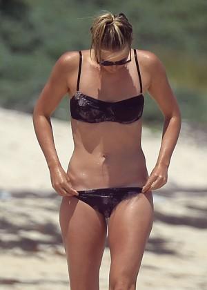 Maria Sharapova Bikini Photos: 2014 in Cancun -34