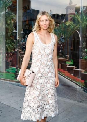 Maria Sharapova - 20th Anniversary Event Fashion Targets Breast Cancer in NYC