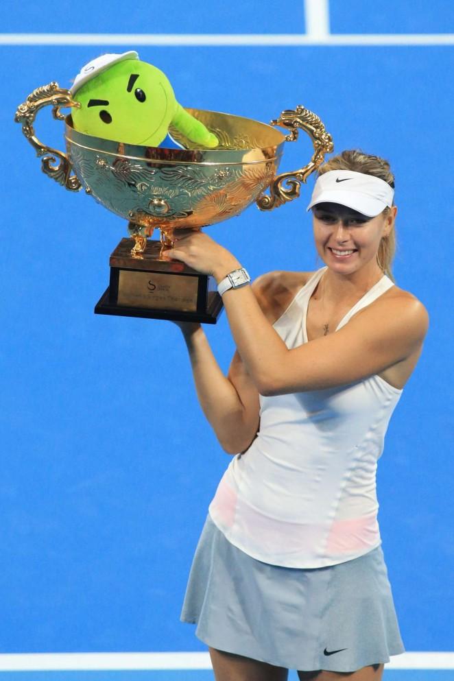 Maria Sharapova - Final of 2014 China Open in Beijing