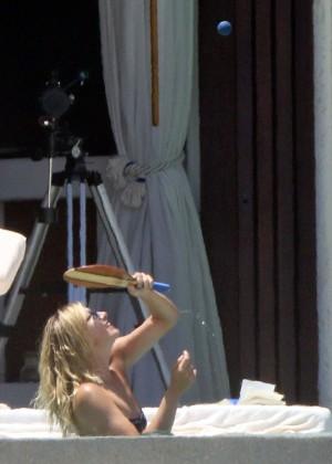 Maria Sharapova Bikini Photos: in Cabo 2014 -07