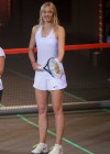 Maria Sharapova - Nike Night Tennis mixed doubles presentation in Malakoff -06