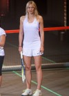 Maria Sharapova - Nike Night Tennis mixed doubles presentation in Malakoff -07