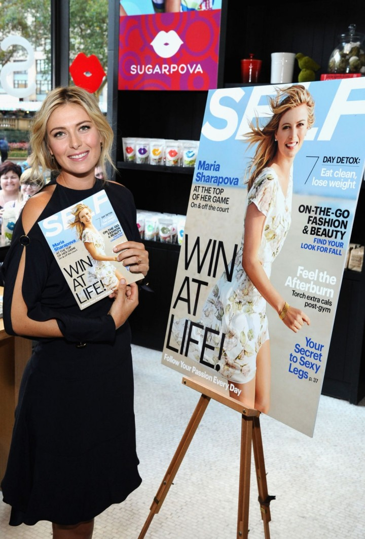Maria Sharapova - SELF Magazine SELF Made Woman Q&A Event in NYC