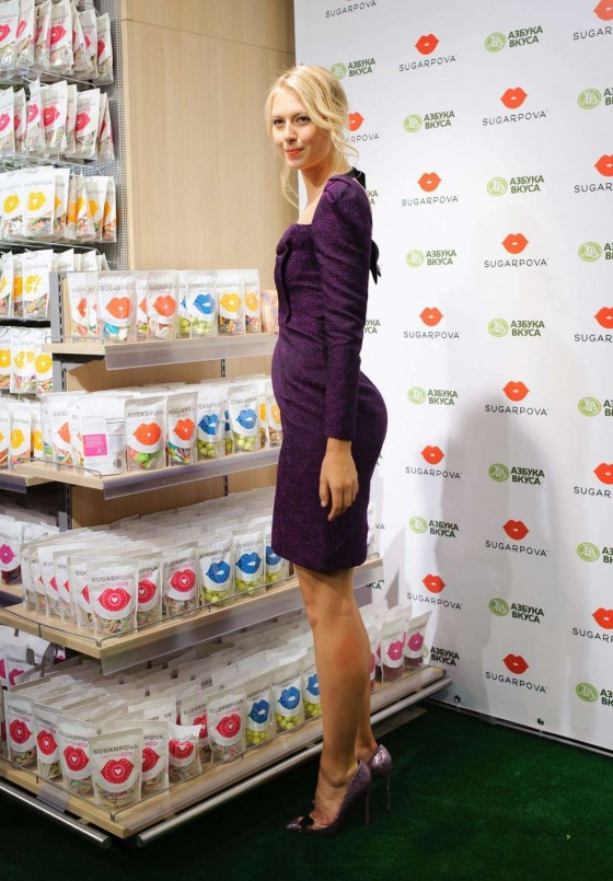 Maria Sharapova at Sugarpova Candy Launch -05