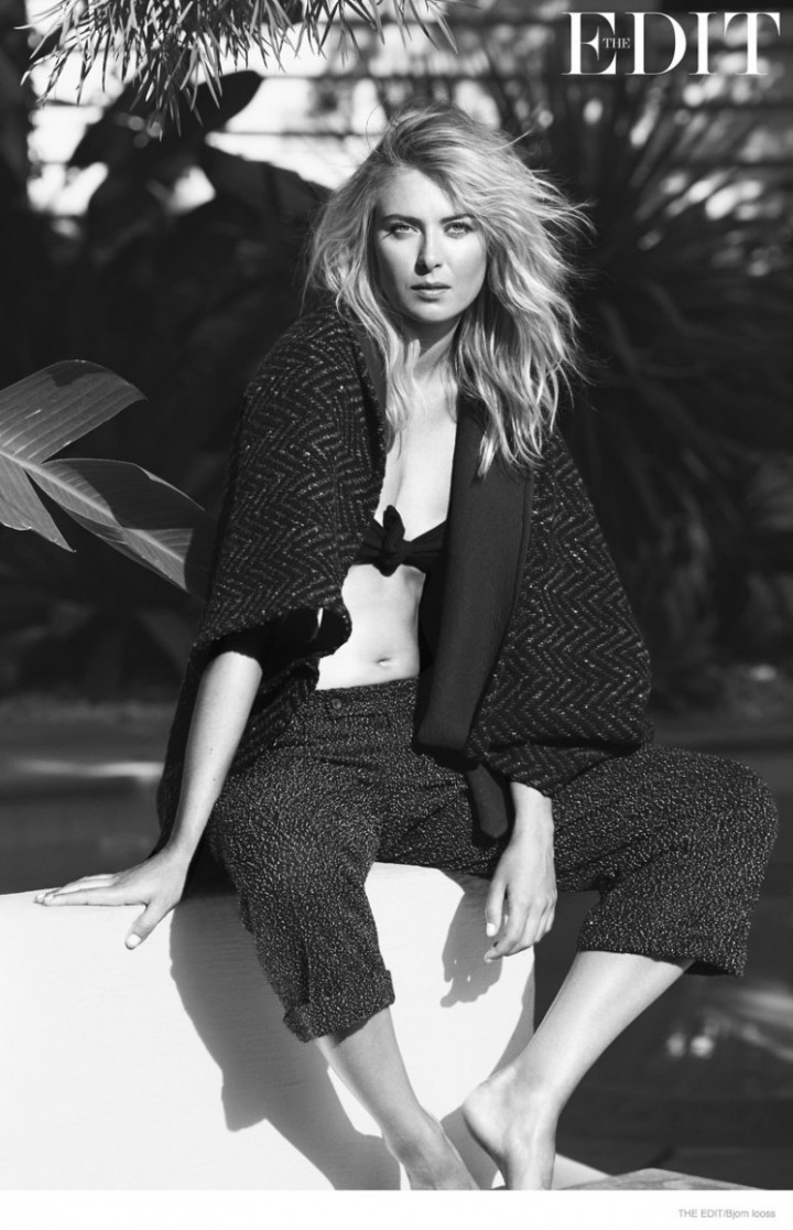 Maria Sharapova - The Edit Magazine 2014