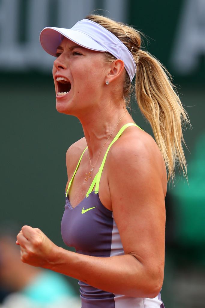 Maria Sharapova vs Serena Williams - 2013 French Open ...