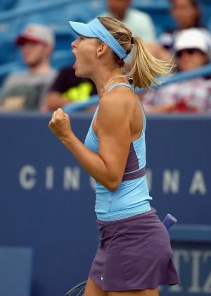 Maria Sharapova - Western and Southern Open in Cincinnati 2014