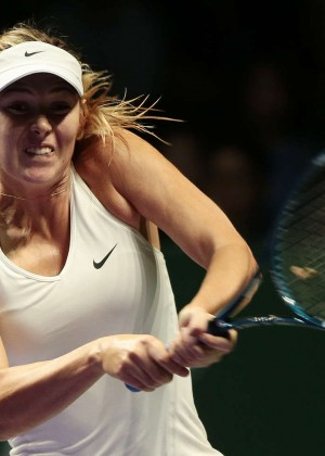 Maria Sharapova - WTA Finals 2014 in Singapore