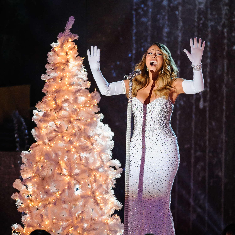 Rockefeller Christmas Tree Lighting 2014: Mariah Carey: 2013 Rockefeller Center Christmas Tree
