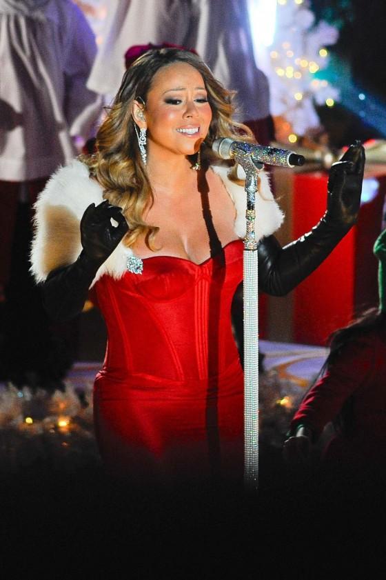 Carey – 81st Annual Rockefeller Center Christmas Tree Lighting in NY
