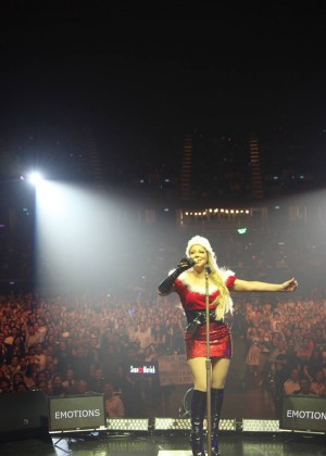 Mariah Carey as Mrs. Claus in Thailand