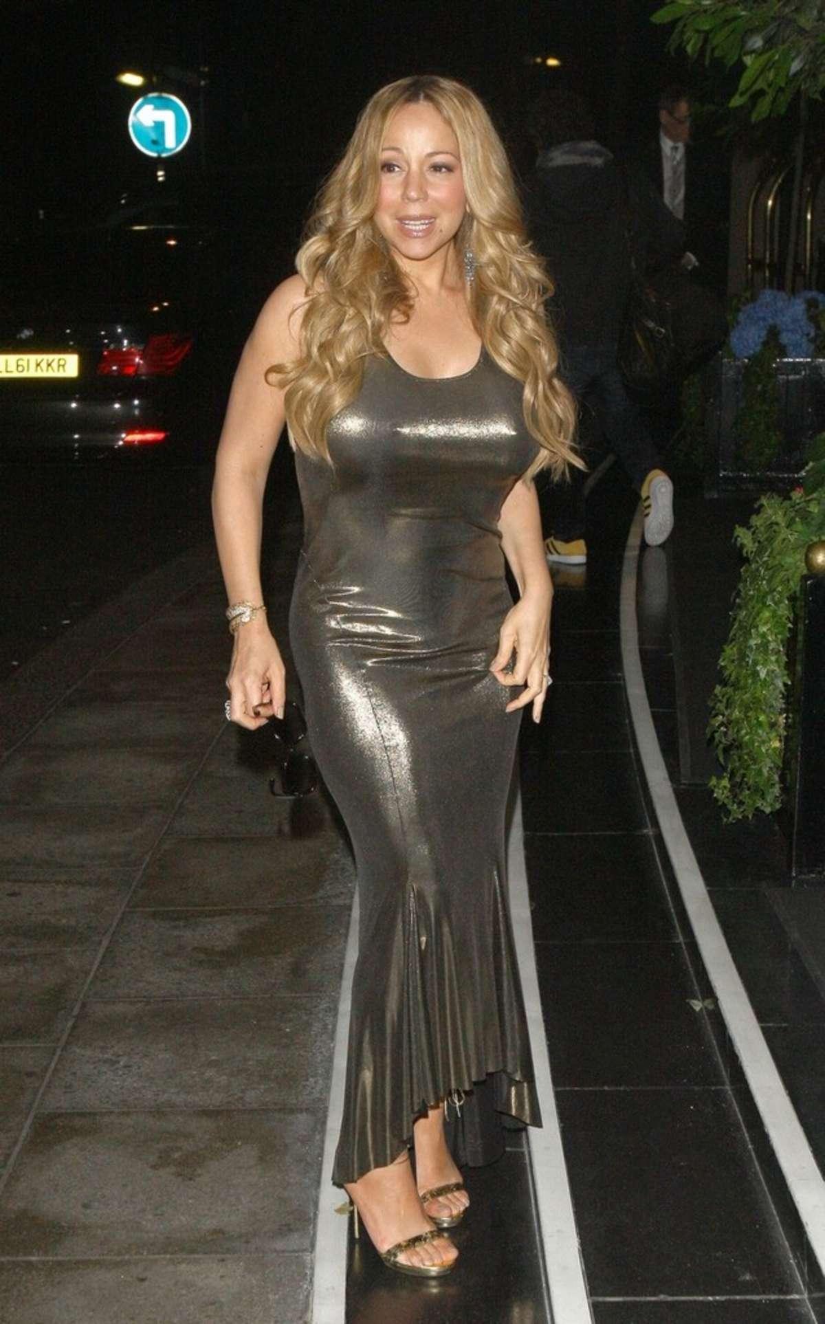 Mariah Carey -in a tig... Mariah Carey