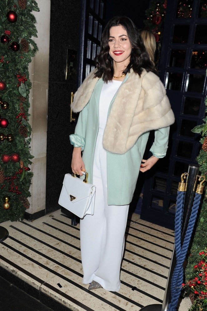 Marina Diamandis - Sunday Times Christmas Party in London