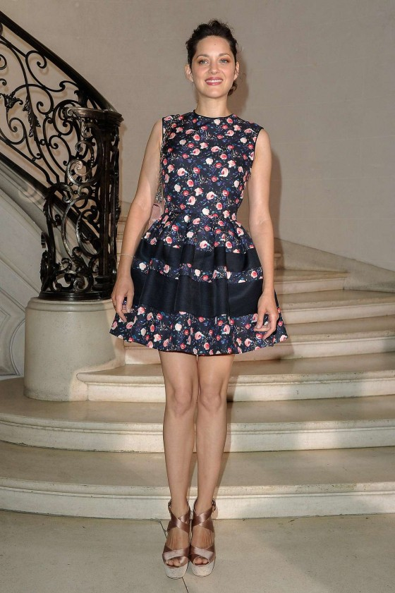 Marion Cotillard - 2012 Christian Dior Haute Couture Show