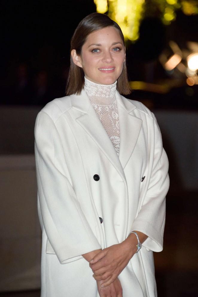 Marion Cotillard - Foundation Louis Vuitton Opening in Boulogne-Billancourt, France