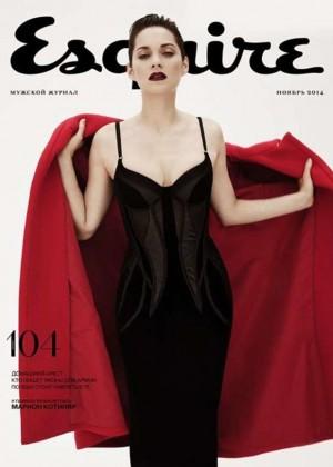 Marion Cotillard - Esquire Russia Magazine Cover (November 2014)