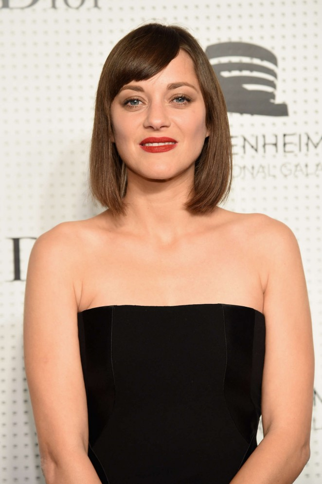 Marion Cotillard - Guggenheim International Gala Pre-Party in NY