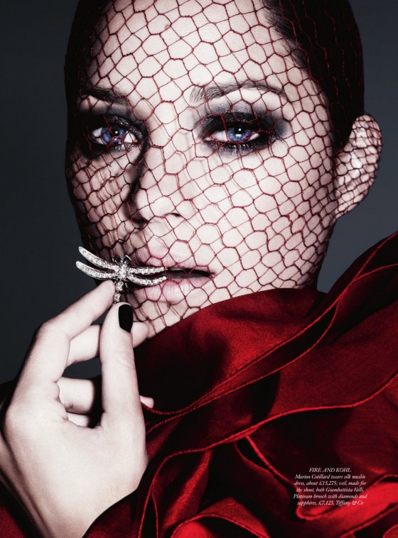Marion Cotillard photoshoot for Harper's Bazaar UK Magazine