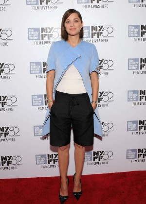 "Marion Cotillard - Premiere ""Time Out Of Mind"" in NYC"