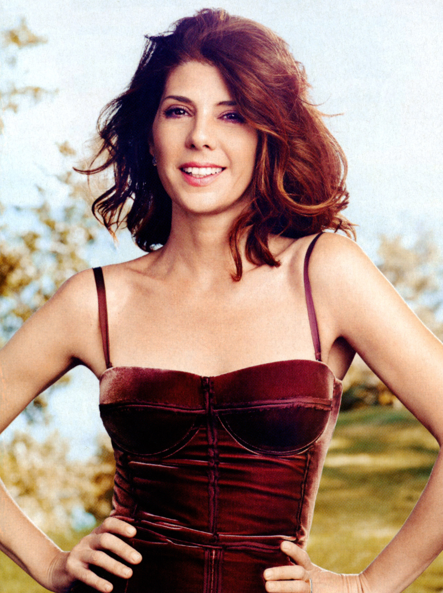 Marisa Tomei for More-...