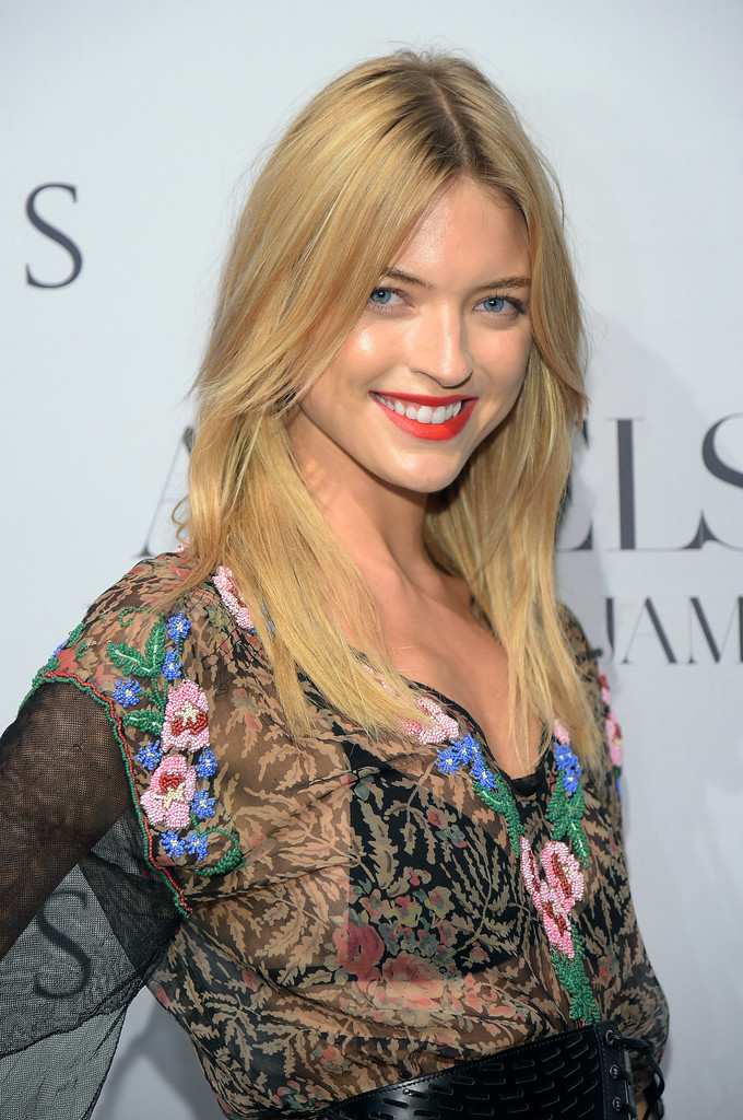 """Martha Hunt - """"Angels"""" by Russell James book launch"""