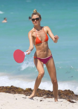 Martha Hunt Hot Bikini Photos: 2014 in Miami -04