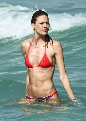 Martha Hunt Hot Bikini Photos: 2014 in Miami -13