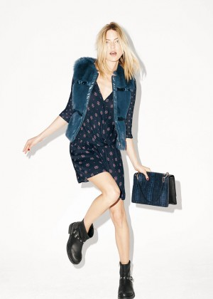 Martha Hunt - iBlues Campaign (Fall/Winter 2014)