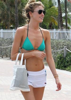 a1613d4518 Martha Hunt in olive green bikini 2017 -33 – GotCeleb