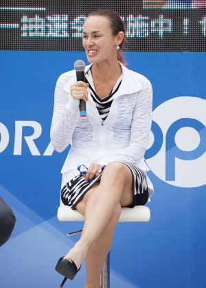 Martina Hingis - Press Event in China