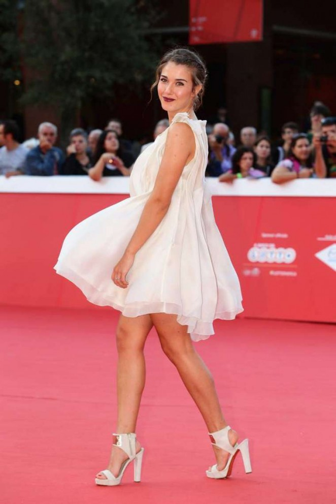 "Martina Pinto - ""Guardians of the Galaxy"" Premiere at 9th Rome Film Festival"