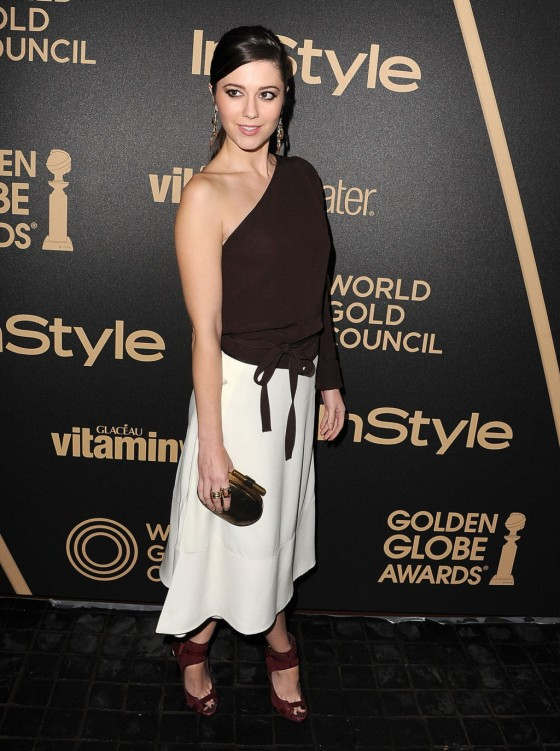 Mary Elizabeth Winstead - InStyle Miss Golden Globe Party in LA -04