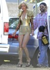Mary Louise Parker hot in gold swimsuit-03