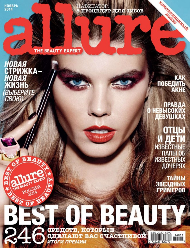 Maryna Linchuk - Allure Russia Magazine (November 2014)