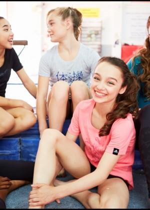 McKayla Maroney: 2014 Catalog for Adidas Gymnastics -01
