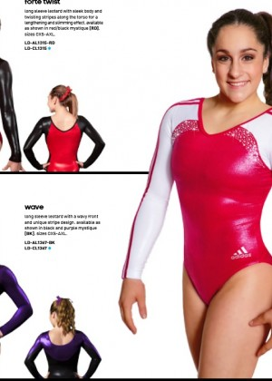 McKayla Maroney: 2014 Catalog for Adidas Gymnastics -02