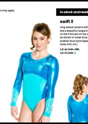 McKayla Maroney: 2014 Catalog for Adidas Gymnastics -03