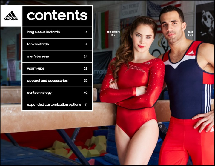 McKayla Maroney: 2014 Catalog for Adidas Gymnastics -04