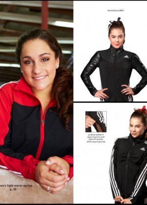 McKayla Maroney: 2014 Catalog for Adidas Gymnastics -06