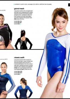 McKayla Maroney: 2014 Catalog for Adidas Gymnastics -08