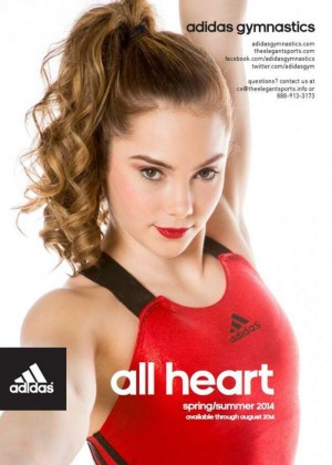 Mckayla Maroney: Adidas Gym Catalog 2014 -01