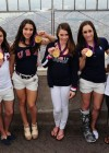 McKayla Maroney, Aly Raisman, Jordyn Wieber, Kyla Ross and Gabrielle Douglas - Empire State building in New York