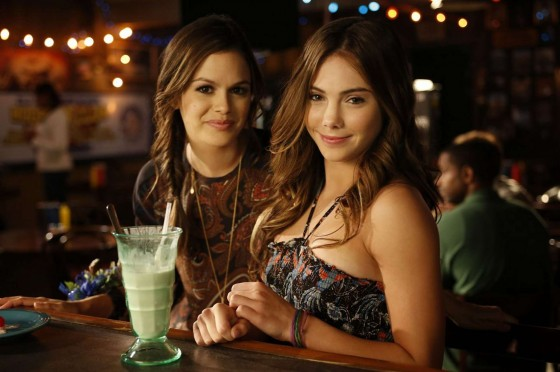 "McKayla Maroney And Rachel Bilson - On the Set of ""Hart of Dixie"""