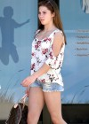 McKayla Maroney - Hot In Short Denim Shorts-02