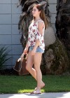 McKayla Maroney - Hot In Short Denim Shorts-06