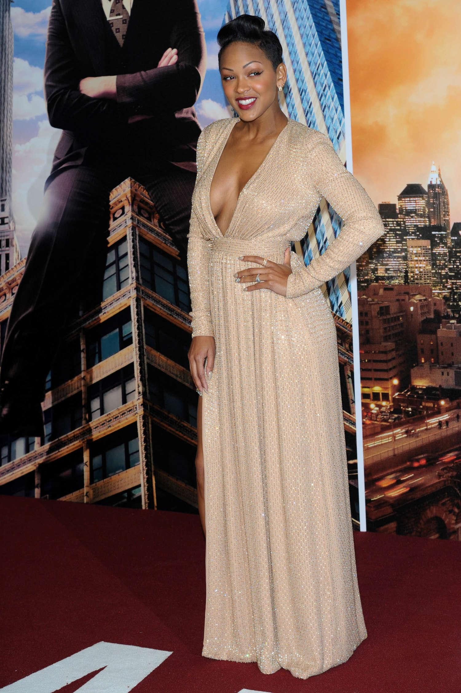 Meagan Good - Anchorman 2: The Legend Continues premiere