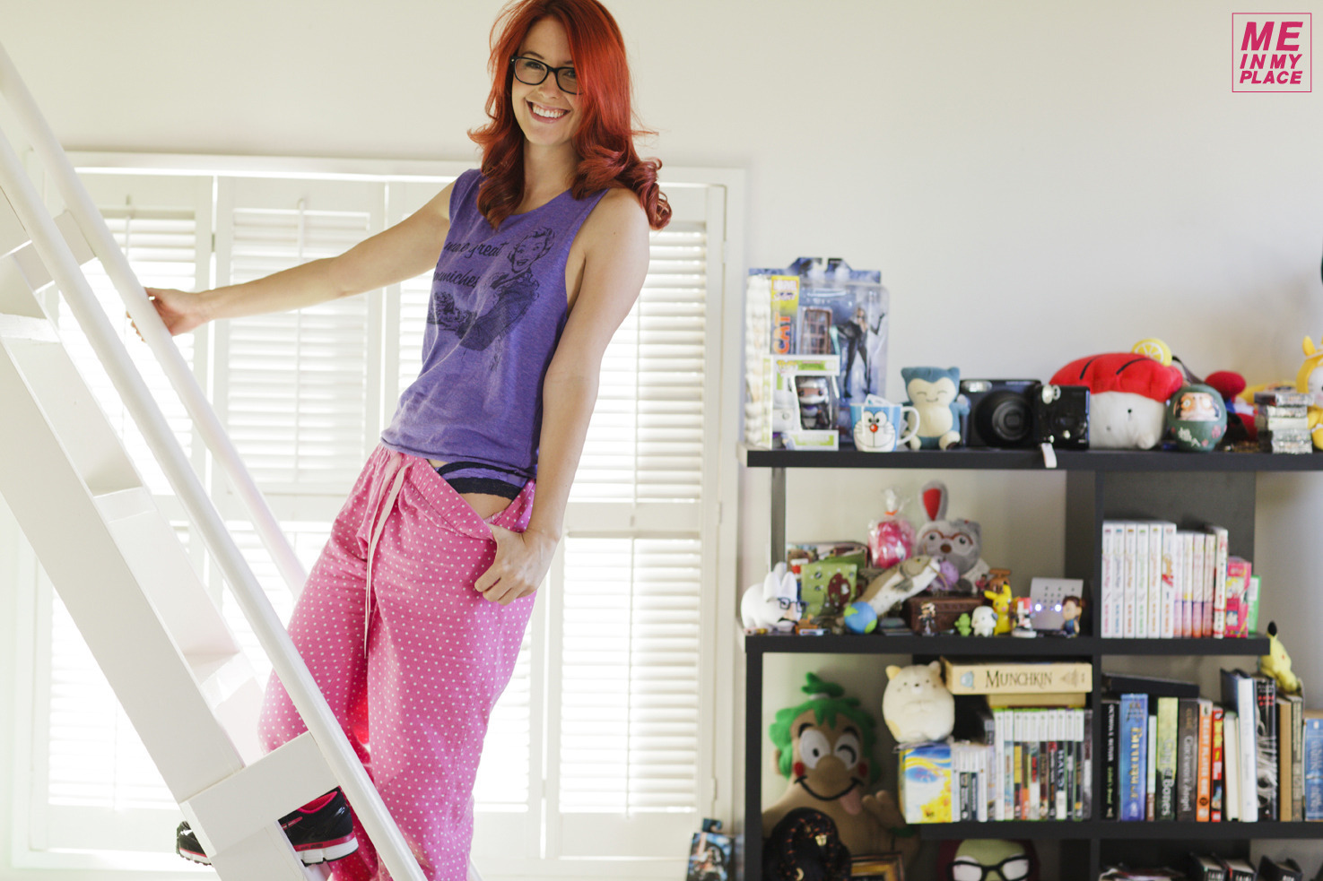 Back to postMeg Turney in Me in My Place – Esquire 2014